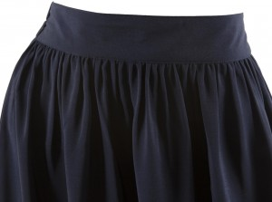 jupe longue évasée