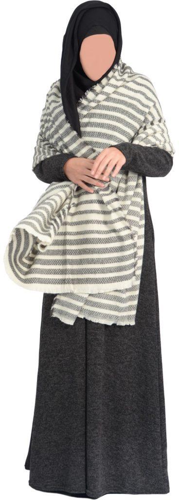 Abaya hiver