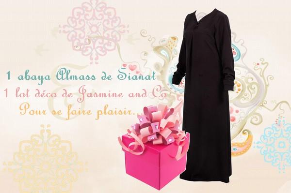 abaya à gagner