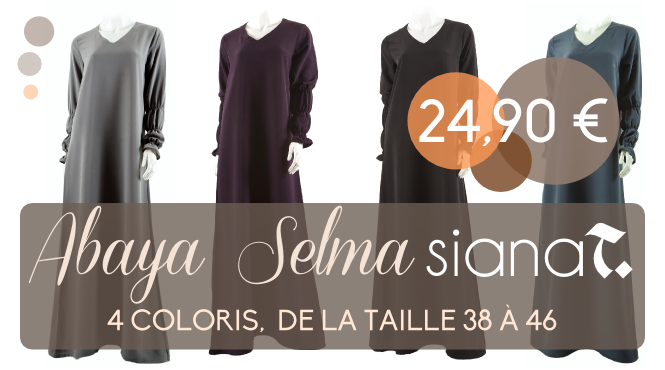 Deal abaya selma islamic deal