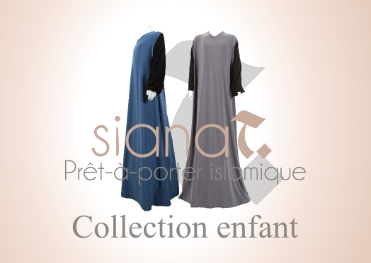 collection enfant sianat