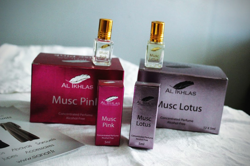 parfum sans alcool