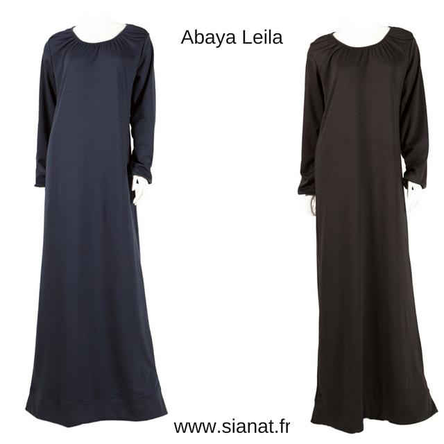 robe islamique hiver